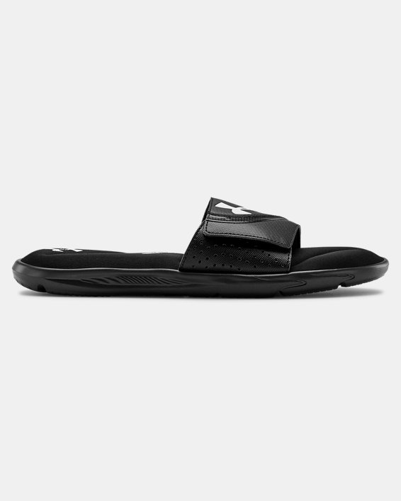 Men's UA Ignite VI Slides, Black, pdpMainDesktop image number 0