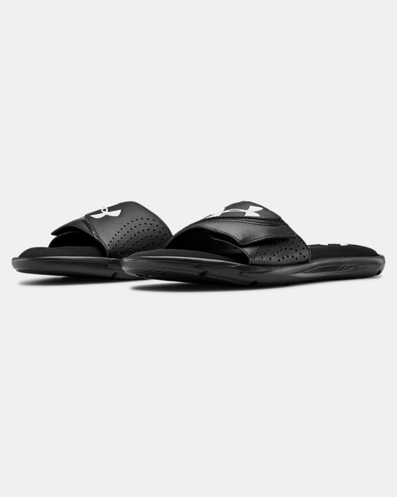 Men's UA Ignite VI Slides, Black, pdpMainDesktop image number 4