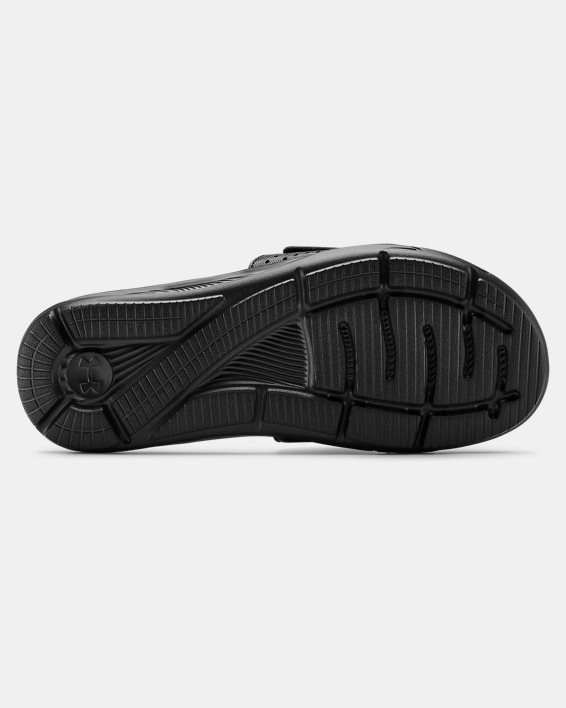 Men's UA Ignite VI Slides, Black, pdpMainDesktop image number 2