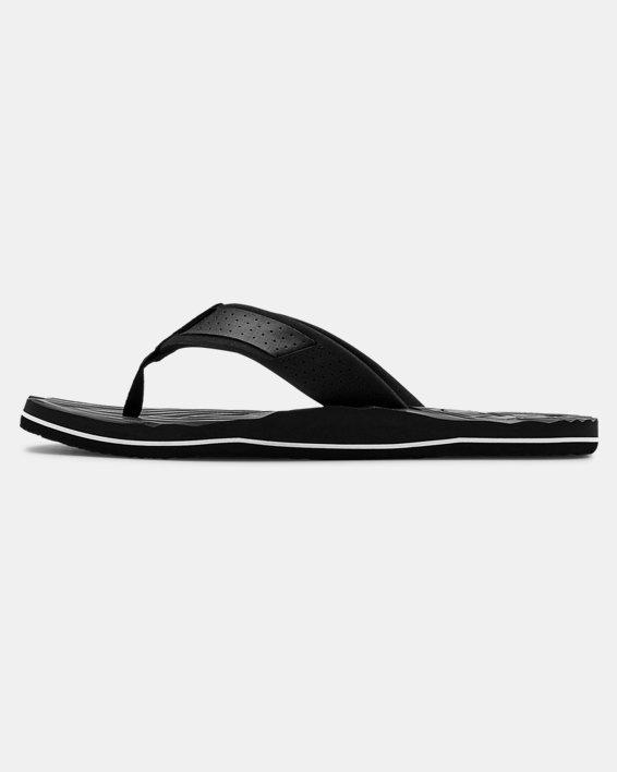 Men's UA Marathon Key IV Sandals, Black, pdpMainDesktop image number 1