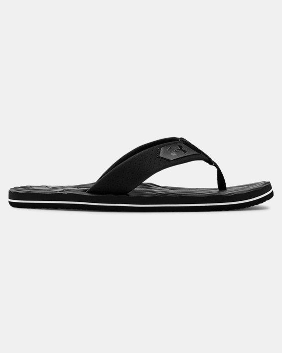 Men's UA Marathon Key IV Sandals, Black, pdpMainDesktop image number 0