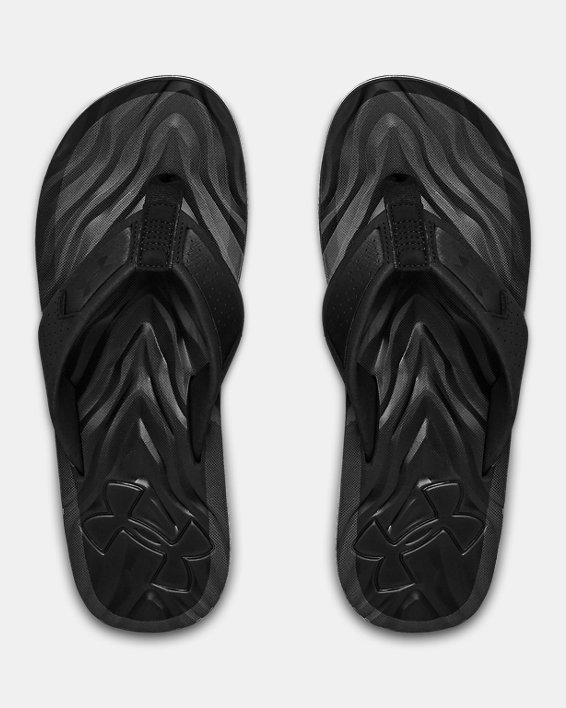 Men's UA Marathon Key IV Sandals, Black, pdpMainDesktop image number 3