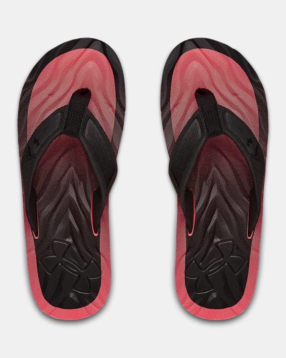 Men's UA Marathon Key IV Sandals, Black, pdpMainDesktop image number 2