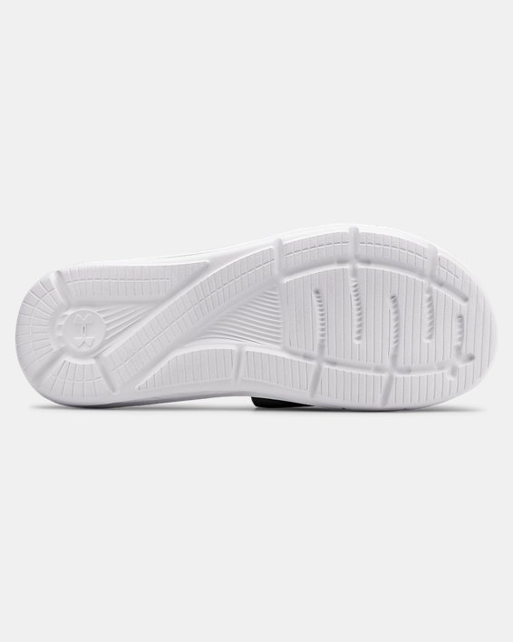 Men's UA Mercenary XI Slides, White, pdpMainDesktop image number 2