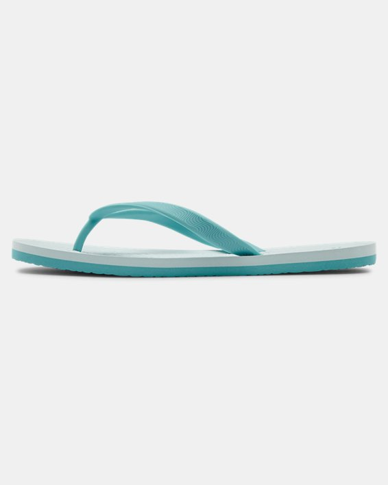 Women's UA Atlantic Dune Sandals, Blue, pdpMainDesktop image number 1