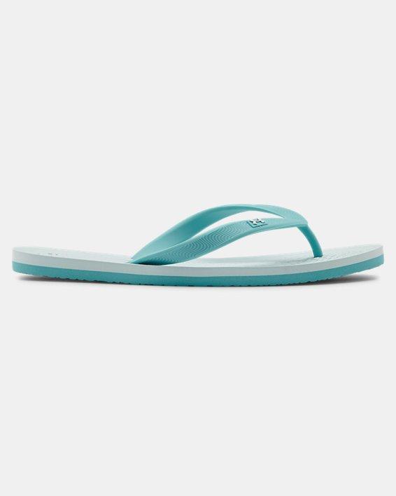 Women's UA Atlantic Dune Sandals, Blue, pdpMainDesktop image number 0