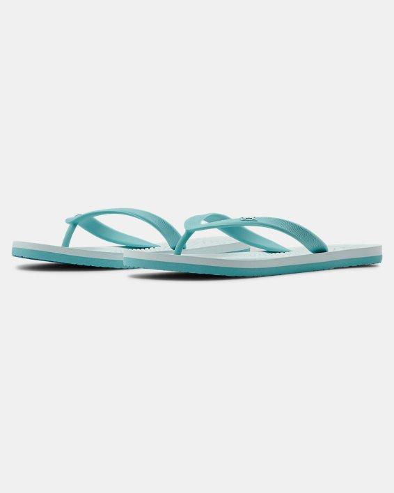 Women's UA Atlantic Dune Sandals, Blue, pdpMainDesktop image number 4