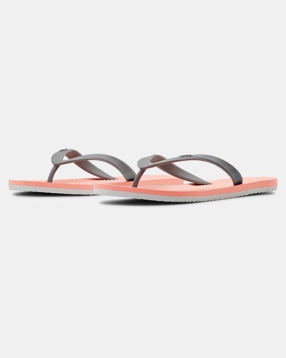 Women's UA Atlantic Dune Sandals, Orange, pdpMainDesktop image number 4