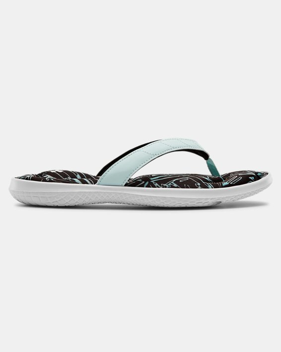 Women's UA Marbella VII Multi Sandals, White, pdpMainDesktop image number 0