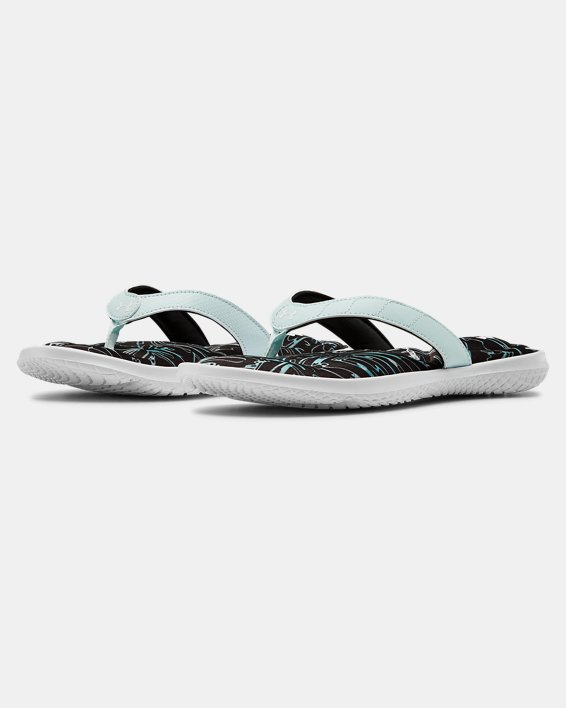 Women's UA Marbella VII Multi Sandals, White, pdpMainDesktop image number 3