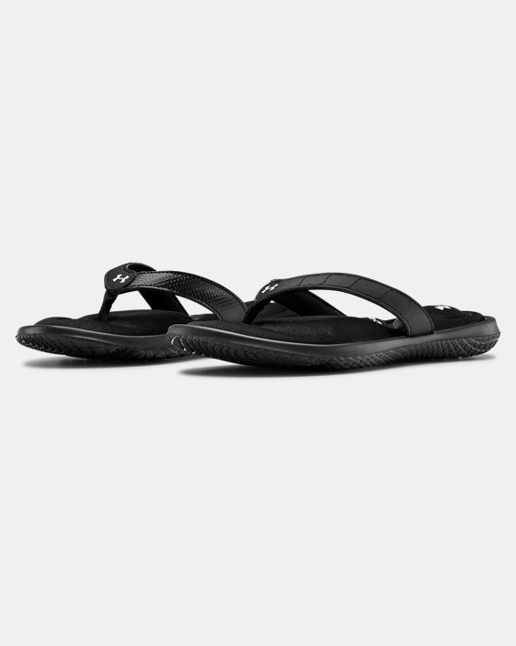 Women's UA Marbella VII Sandals, Black, pdpMainDesktop image number 4