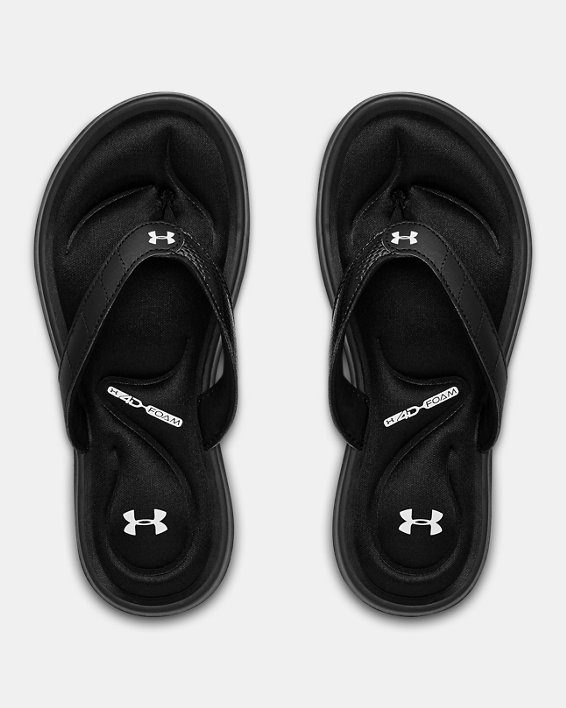 Women's UA Marbella VII Sandals, Black, pdpMainDesktop image number 3