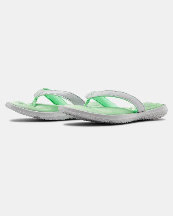 Women's UA Marbella VII Sandals, Gray, pdpMainDesktop image number 4