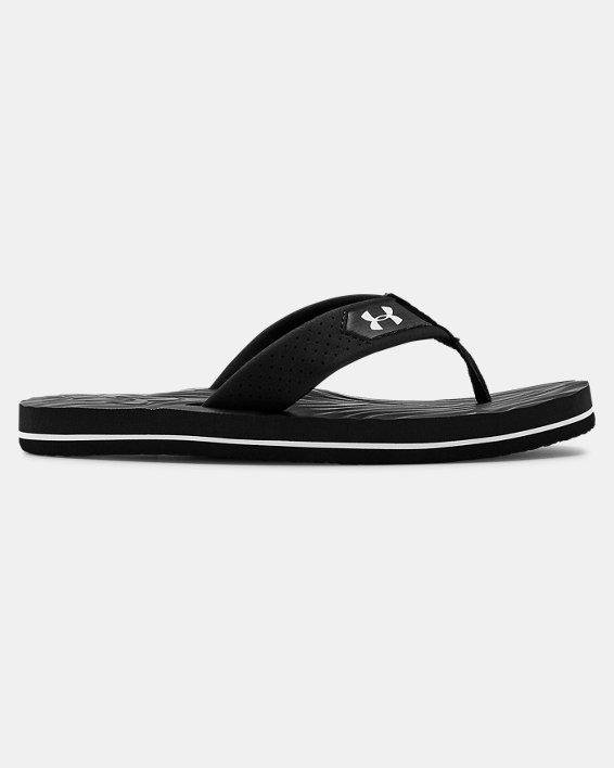 Boys' UA Marathon Key IV Sandals, Black, pdpMainDesktop image number 0