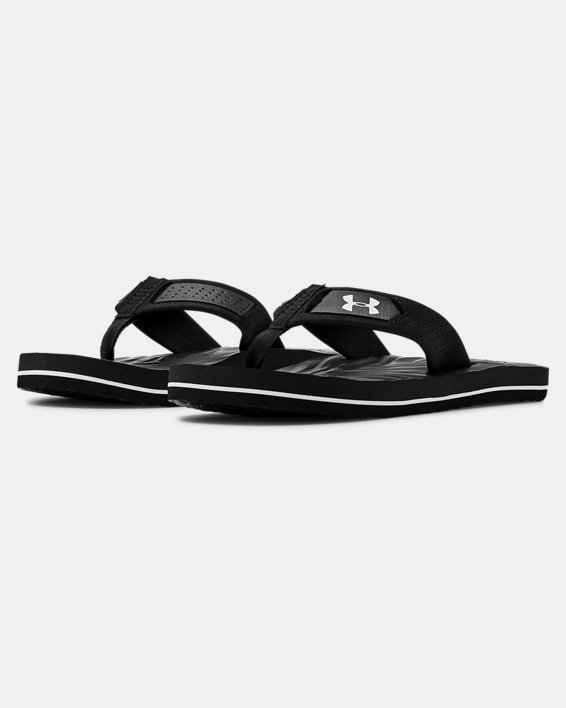 Boys' UA Marathon Key IV Sandals, Black, pdpMainDesktop image number 4
