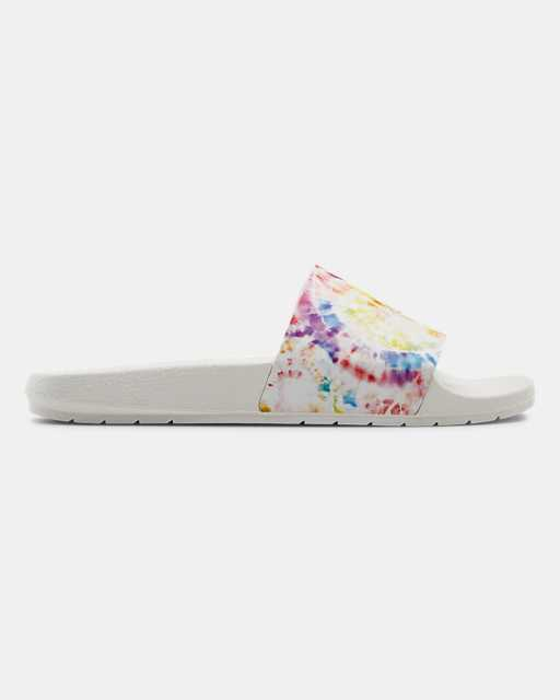Unisex UA Core Remix Pride Slides