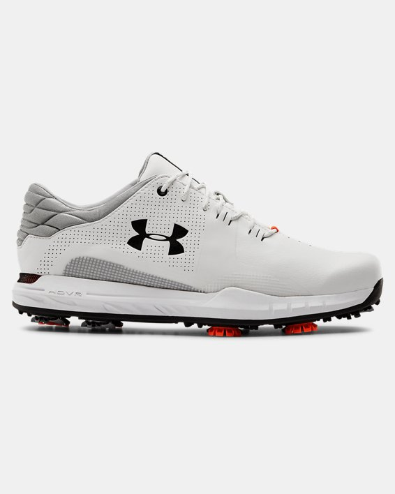 Men's UA HOVR™ Matchplay Golf Shoes, White, pdpMainDesktop image number 0