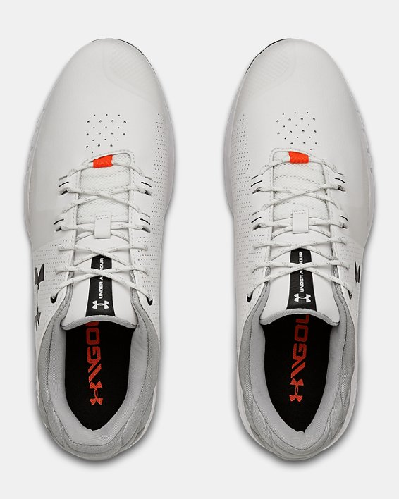 Men's UA HOVR™ Matchplay Golf Shoes, White, pdpMainDesktop image number 3