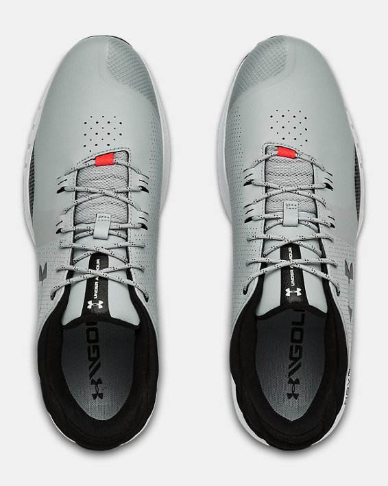 Men's UA HOVR™ Matchplay Golf Shoes, Gray, pdpMainDesktop image number 3