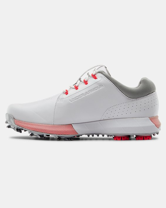 Women's UA HOVR™ Drive Clarino Golf Shoes, White, pdpMainDesktop image number 1