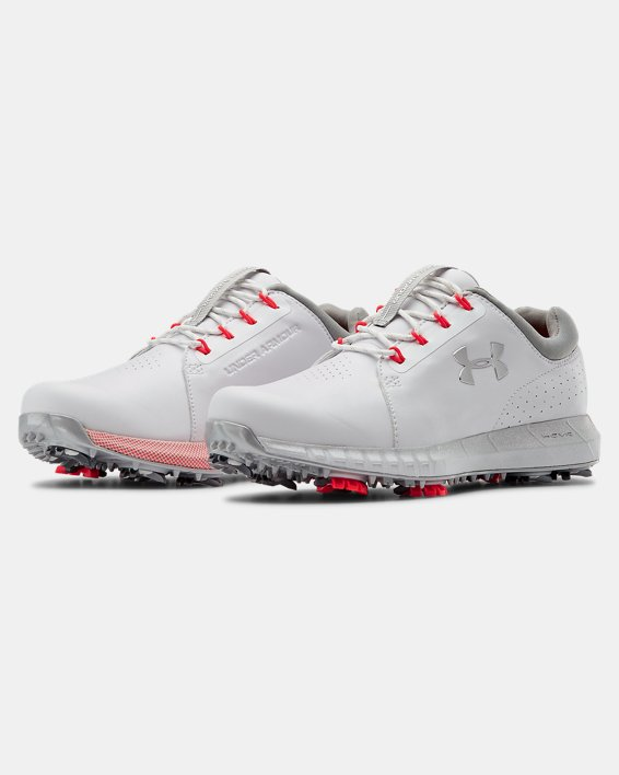 Women's UA HOVR™ Drive Clarino Golf Shoes, White, pdpMainDesktop image number 4