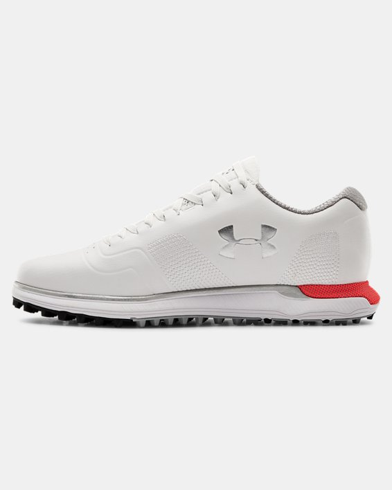 Women's UA HOVR™ Fade SL Golf Shoes, White, pdpMainDesktop image number 1