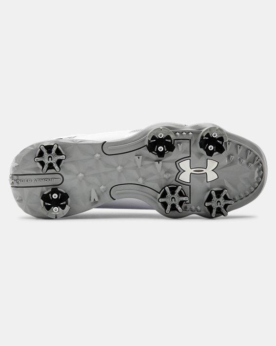 UA Spieth 4 Jr. Golf Shoes, White, pdpMainDesktop image number 2