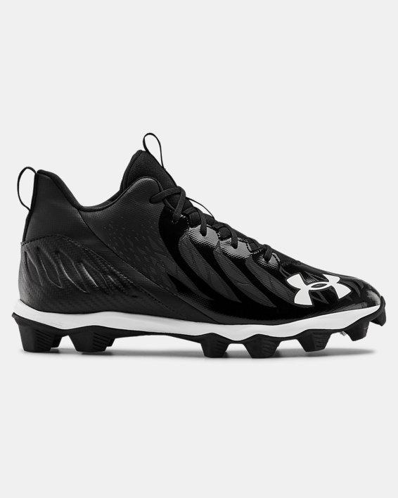 Men's UA Spotlight Franchise RM Football Cleats, Black, pdpMainDesktop image number 0