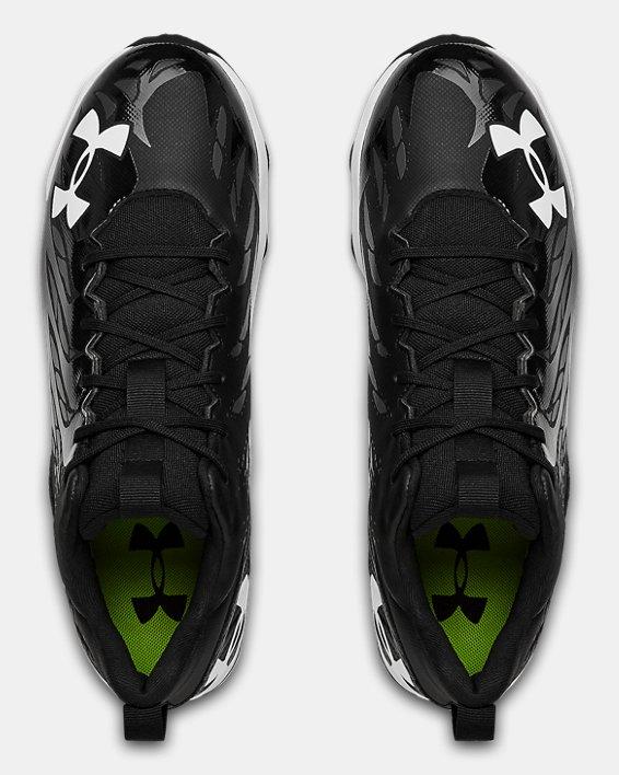 Men's UA Spotlight Franchise RM Football Cleats, Black, pdpMainDesktop image number 3