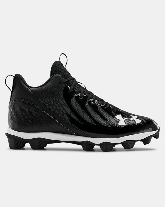 Men's UA Spotlight Franchise RM Wd Football Cleats, Black, pdpMainDesktop image number 0