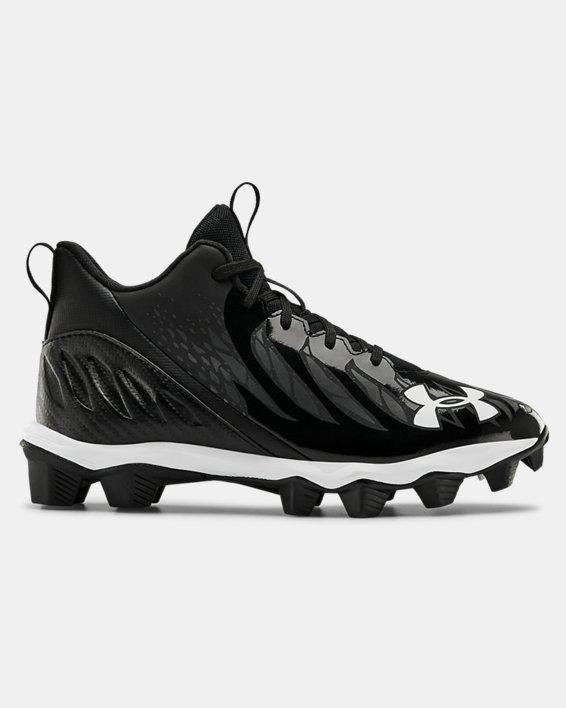Boys' UA Spotlight Franchise Wd Jr. Football Cleats, Black, pdpMainDesktop image number 0