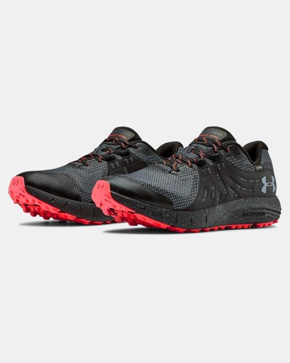 Men's UA Charged Bandit Trail GORE-TEX® Running Shoes, Black, pdpMainDesktop image number 3
