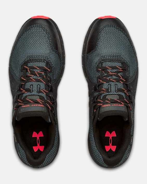 Men's UA Charged Bandit Trail GORE-TEX® Running Shoes, Black, pdpMainDesktop image number 2