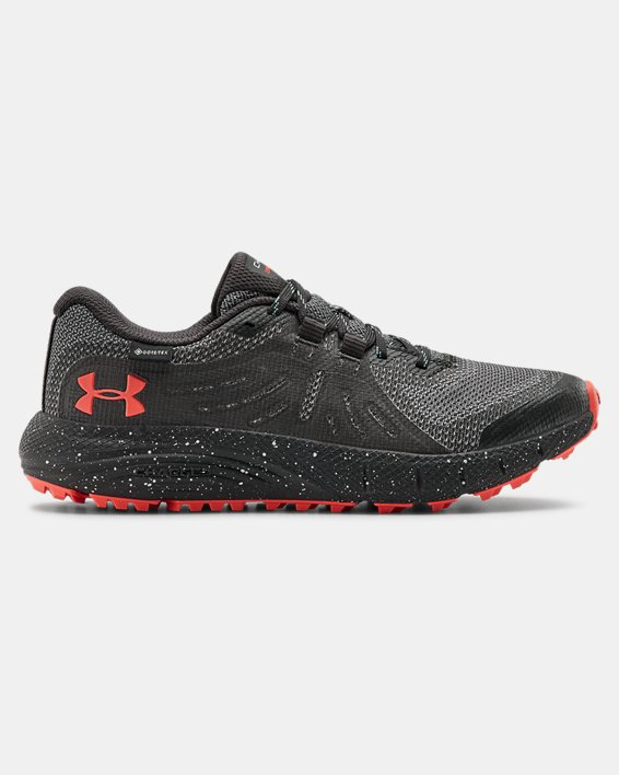 Women's UA Charged Bandit Trail GORE-TEX® Running Shoes, Gray, pdpMainDesktop image number 0