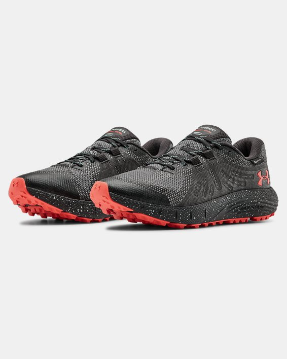 Women's UA Charged Bandit Trail GORE-TEX® Running Shoes, Gray, pdpMainDesktop image number 3