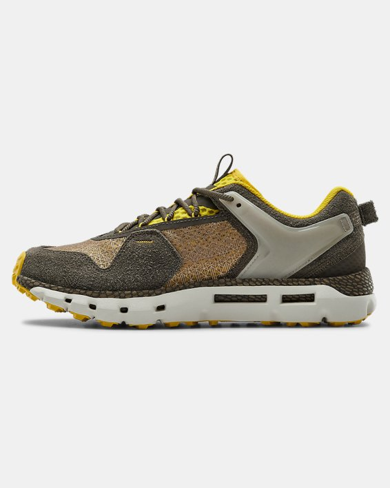 Unisex UA HOVR™ Summit BHM Sportstyle Shoes, Brown, pdpMainDesktop image number 1