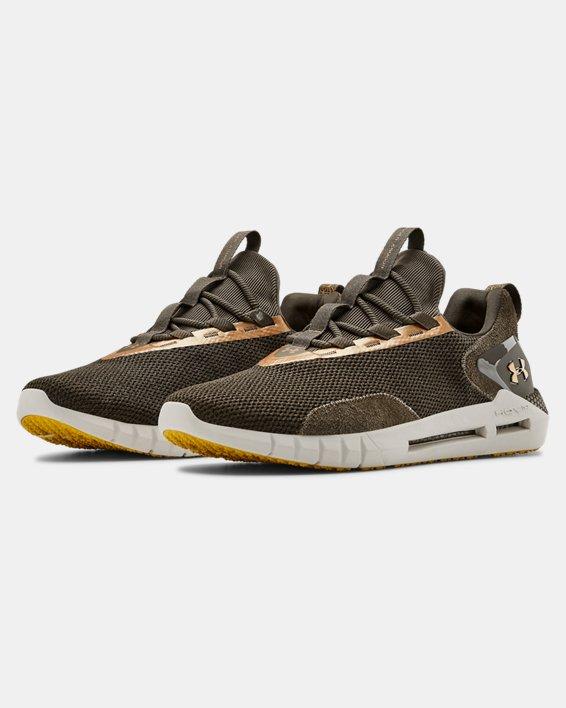 Unisex UA HOVR™ STRT BHM Sportstyle Shoes, Brown, pdpMainDesktop image number 4