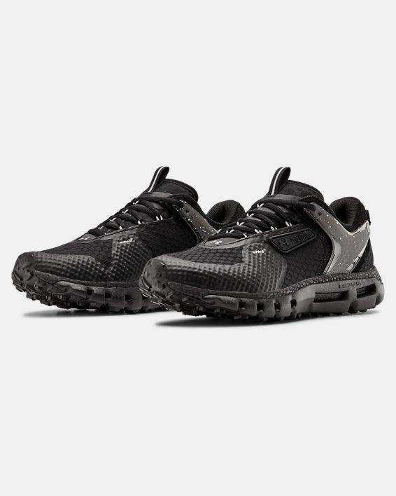 Unisex UA HOVR™ Summit URBN TXT Sportstyle Shoes, Black, pdpMainDesktop image number 4