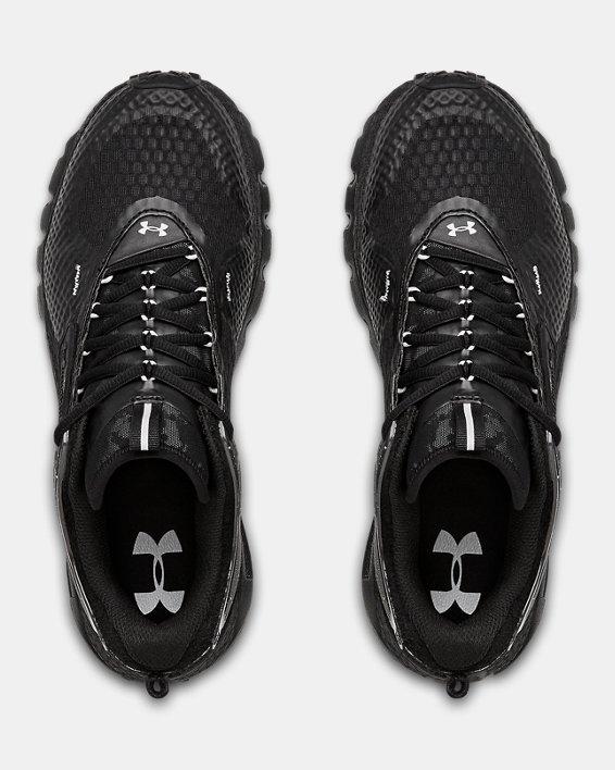 Unisex UA HOVR™ Summit URBN TXT Sportstyle Shoes, Black, pdpMainDesktop image number 3