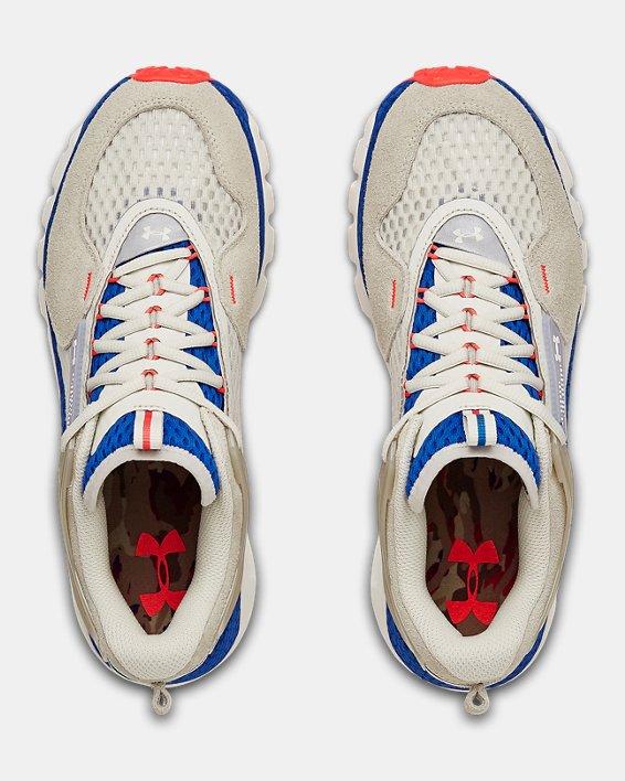 Unisex UA HOVR™ Summit PRDS Camo Sportstyle Shoes, White, pdpMainDesktop image number 3