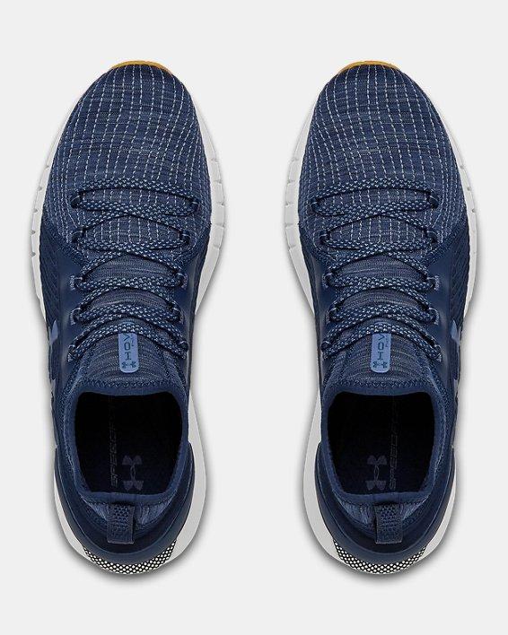 Men's UA HOVR™ Phantom SE SASHIKO Running Shoes, Navy, pdpMainDesktop image number 2