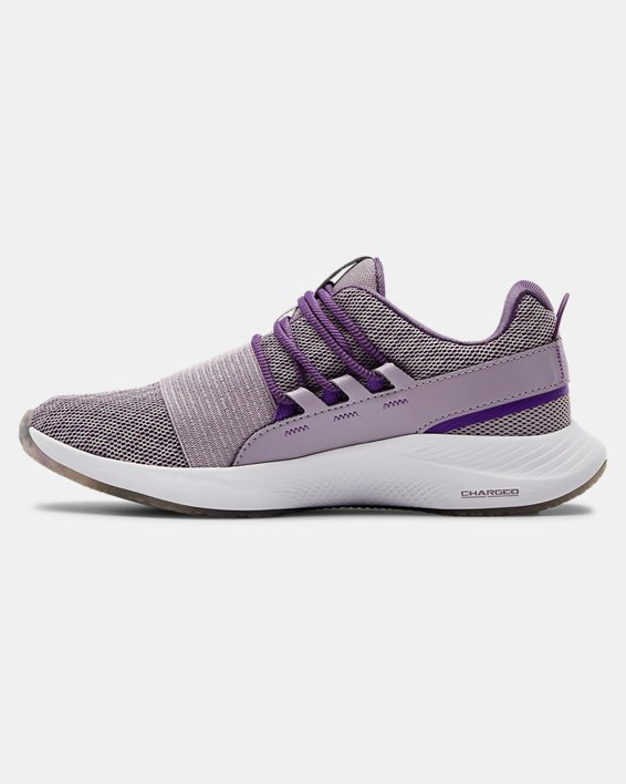 Women's UA Charged Breathe WHM Sportstyle Shoes, Purple, pdpMainDesktop image number 1