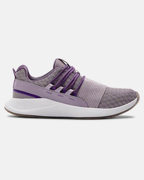 Women's UA Charged Breathe WHM Sportstyle Shoes, Purple, pdpMainDesktop image number 0