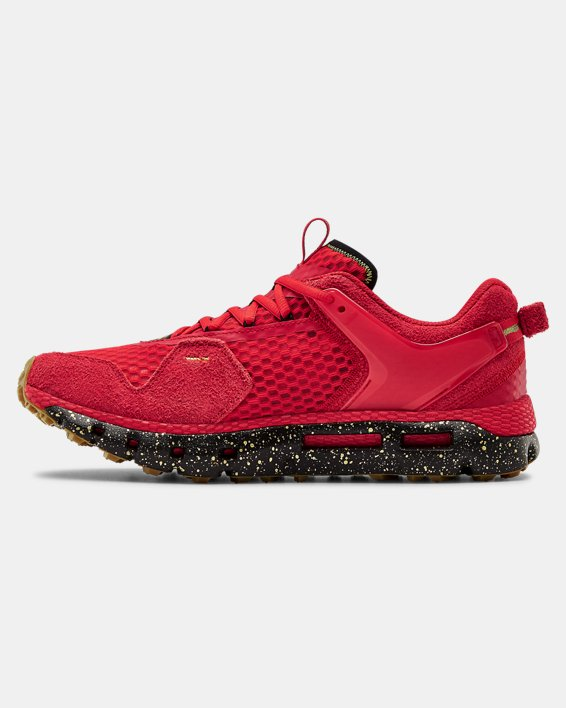 Unisex UA HOVR™ Summit CNY Sportstyle Shoes, Red, pdpMainDesktop image number 1