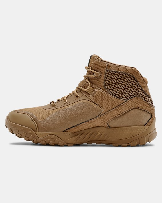 "Men's UA Valsetz RTS 1.5 5"" Tactical Boots, Brown, pdpMainDesktop image number 1"