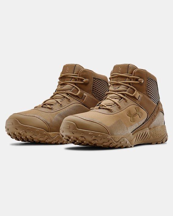 "Men's UA Valsetz RTS 1.5 5"" Tactical Boots, Brown, pdpMainDesktop image number 4"
