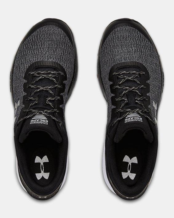 Men's UA Charged Escape 3 Wide 4E Running Shoes, Black, pdpMainDesktop image number 3