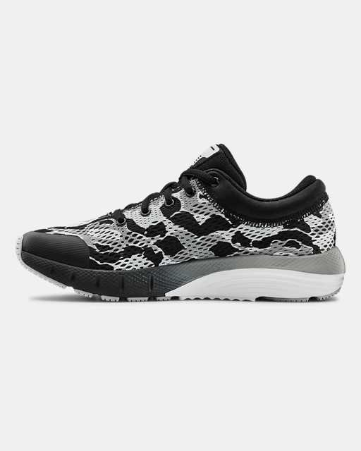 Grade School UA Charged Bandit 5 Camo Running Shoes