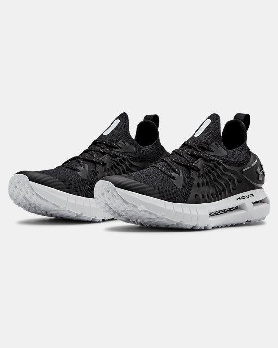 Grade School UA HOVR™  Phantom RN Running Shoes, Black, pdpMainDesktop image number 4