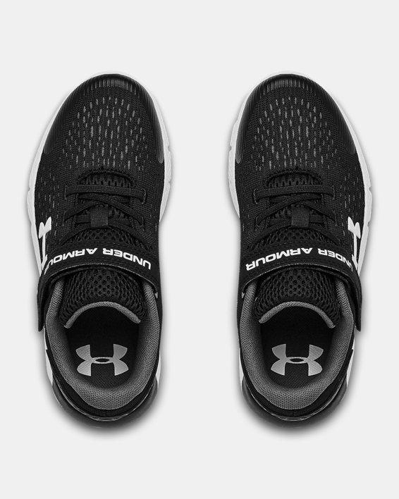 Pre-School UA Rogue 2 AC Running Shoes, Black, pdpMainDesktop image number 3